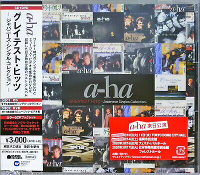 A-ha-greatest Hits Japanese Single Collection-japan Cd+dvd+book G88 • 28.28£