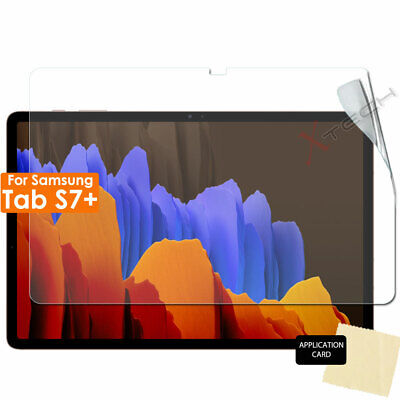 £2.95 • Buy 1x CLEAR Screen Protector Covers For Samsung Galaxy Tab S7 Plus T970 T975 T976