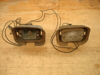AU90 • Buy Ford Fairlane Za/zb/zc/zd Front Indicator Housings  X2