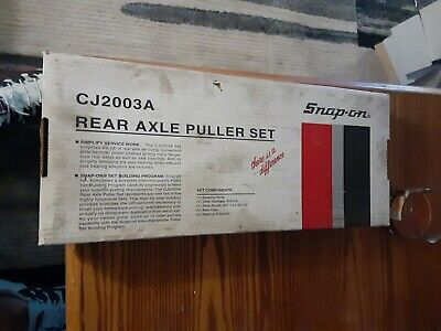 $299.99 • Buy Like New Snap On Tools Rear Axle Puller Set In Box #cj2003 Usa Nice!