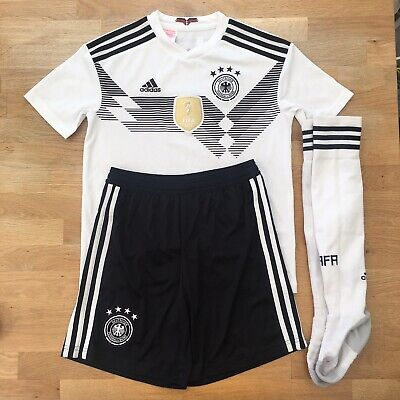 Germany 2017 Confederations Cup Adidas Home Football Kit, Kid's Size 11-12 Years • 16.50£