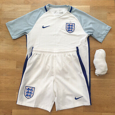 England National Football Team Home Kit 2016 Kid's Size 12-13 Years PLEASE READ • 22£