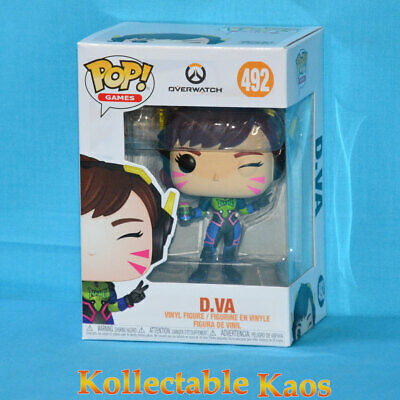 AU23 • Buy Overwatch - Nano Cola D.Va Pop! Vinyl Figure (RS) #492