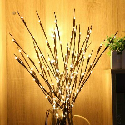 LED Twig Lights With Flower Effects Twigs Branch Home Decorative Fairy Lights UK • 7.32£