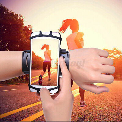 180° Sport Running Jogging Gym Arm Band Wrist Band Phone Case Holder For  R! • 13.71£