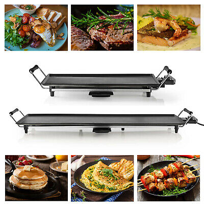 £31.92 • Buy Electric Teppanyaki Table Top Grill Griddle BBQ Hot Plate Barbecue Party XL/XXL