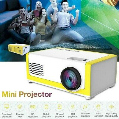 Mini Handheld LED Projector Home Theater&Gaming For IPhone Android Smartphone • 39.49£