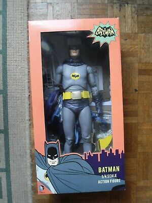 NECA 1/4 Scale Batman Classic 1966 TV Series Batman - Adam West Action Figure • 200£