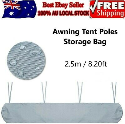 AU19.50 • Buy Awning Tent Poles Storage Bag Patio Sun Protection Canopy Dust Cover Case Holder