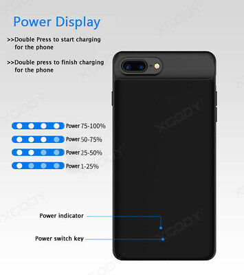 AU31.99 • Buy For IPhone 6 7 8 Plus Battery External Power Bank Charger Case Charging Cover AU