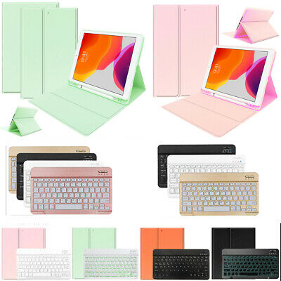 AU23.99 • Buy Case+Keyboard For IPad 9.7 10.2 Inch 7th 6th 5th Gen Air Leather Stand Cover AU