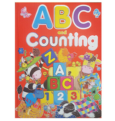 £9.99 • Buy XLARGE PREMIUM QUALITY PADDED CHILDREN'S ABC & 123 STORY Book By BROWN WATSON