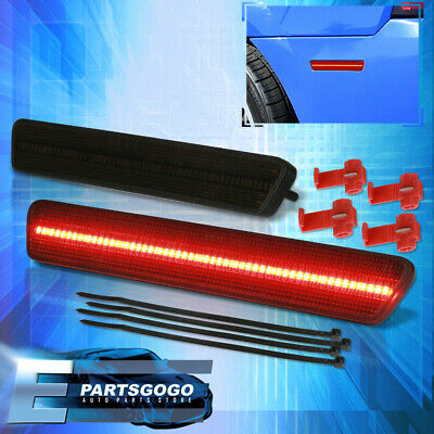 $33.99 • Buy For 99-04 Ford Mustang SN95 Smoked Red LED Rear Side Marker Parking Lights Lamps