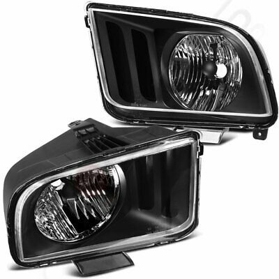$84.09 • Buy Headlight Fits 05-09 Ford Mustang Assembly Headlamp Driver + Passenger Side