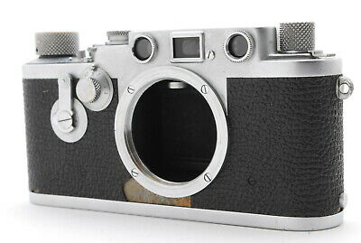Excellent   Leica IIIf III F Red Dial Leitz Self Timer Rangefinder From Japan • 312.80£
