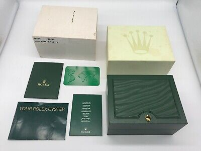 $ CDN265.98 • Buy Authentic Rolex Watch Box Case Green With Booklet Set 0901007 A245