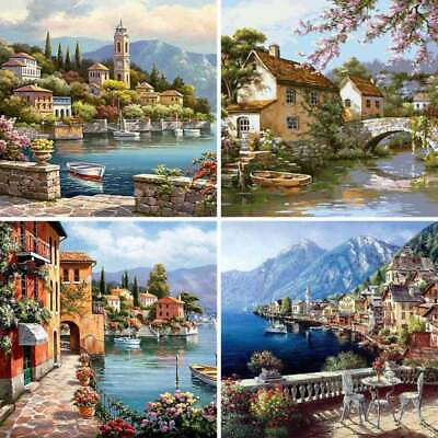 DIY Oil Acrylic Painting Kit Paint By Numbers Frameless Adult Children Beginners • 8.99£