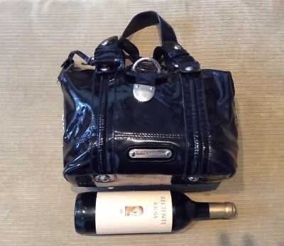 Stunning Russell & Bromley Black Patent Leather Bag • 59.99£