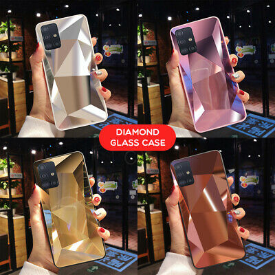 $ CDN4.50 • Buy For Samsung Galaxy A21S A51 A71 S20 A41 A31 Shockproof Diamond Mirror Case Cover