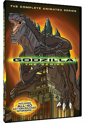 GODZILLA : THE COMPLETE ANIMATED SERIES (40 Episodes)-  DVD - REGION 1 - Sealed • 13.99£