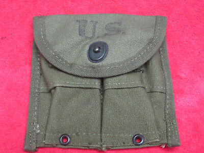 $25 • Buy US Original WWII M1-Carbine Belt Pouch Dated AVERY 1945