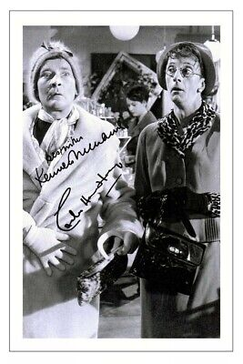 £1.89 • Buy CHARLES HAWTREY & KENNETH WILLIAMS Signed Autograph PHOTO Print CARRY ON
