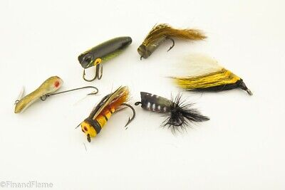 $ CDN7.25 • Buy Vintage Miscellaneous Fly Fishing Antique Fishing Lure Lot JJ23