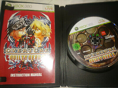 Overture Guilty Gear 2 For Xbox 360 - DISC SCRATCHED / NEEDS REPAIR  • 8£