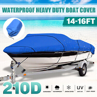 20-22Ft Dust Protector Extra Heavy Duty Waterproof Boat Speedboat V-Hull Cover • 28.73£