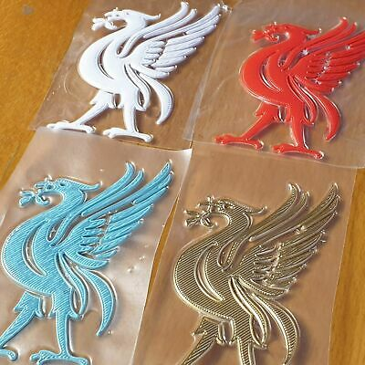 £5.99 • Buy Liverpool Liverbird Embossed Iron On Patch Badge For Clothes Bags & Material