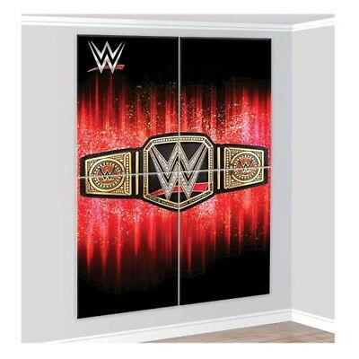 WWE WRESTLING SMASH WALL POSTER DECORATING KIT (4pc) ~ Birthday Party Supplies • 7.23£