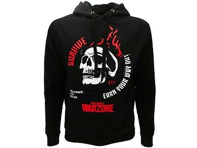 £56.12 • Buy Sweatshirt Call Of Duty Warzone Original Wz Gulag Official Hood Pocket Black