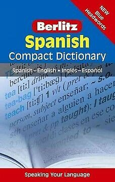 Berlitz Compact Dictionary Spanish,   • 6.35£