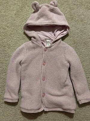 AU8 • Buy DYMPLES Baby Toddler Girls Pink Jacket Sweater Hoodie Size 0