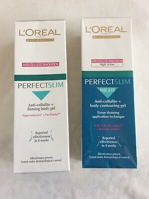 L'oreal Perfectslim Anti-cellulite Innovation Gel  And Perfectslim Night Action. • 25.95£