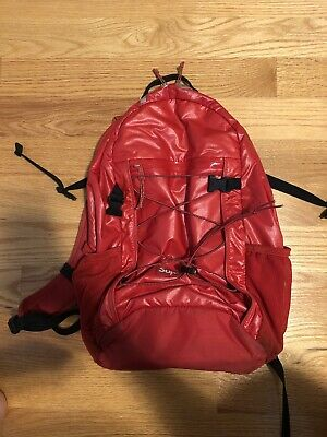 $ CDN190.81 • Buy Supreme FW17 Red Glossy Backpack