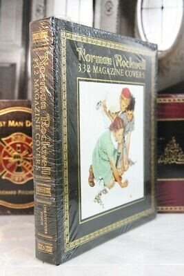 $ CDN253.33 • Buy NORMAN ROCKWELL 332 MAGAZINE COVERS  Easton Press -  LARGE BOOK - SCARCE -SEALED