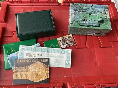 $ CDN67.23 • Buy Vintage Rolex Watch Steel Roman Box & Paperwork Only No Watch