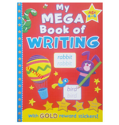 £5.99 • Buy BROWN WATSON JUMBO A4 Childrens MY MEGA BOOK OF WRITING Learning Kids 96 PAGES