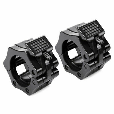 $ CDN7.24 • Buy 1 Pair Olympic Dumbbell Barbell Bar Lock 1  / 2  Weight Clamps Collars 25mm