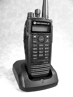 $299 • Buy MINT Motorola XPR6550 UHF MOTOTRBO Portable Radio W/Accessories