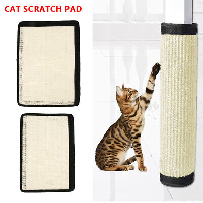 AU13.25 • Buy Sisal Pet Cat Claw Scratch Guard Mat Hanging Furniture Protectors Toys Board Pad