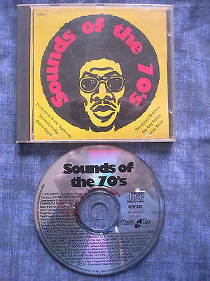 VARIOUS ARTISTS - SOUNDS OF THE 70'S. EAN: 5020214122126. CD. 24 Tracks. • 0.99£
