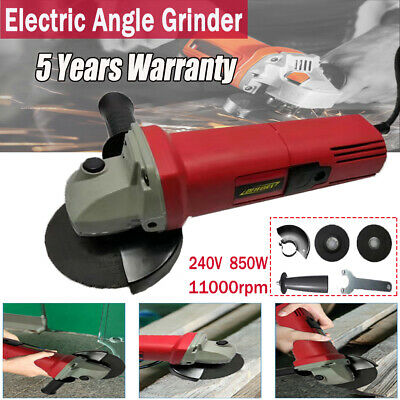 100mm 850W Electric Angle Grinder Multi Tool Cutting Sanding Polisher Heavy Duty • 14.90£