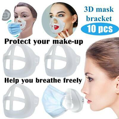 3D Cover Silicone Bracket Face Shield Inner Support Frame Breathing Space P • 18.89£