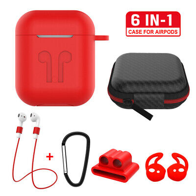 $ CDN6.30 • Buy 6in1 Protective Case Kits Bag For Apple AirPods Charging Case Accessories Cover