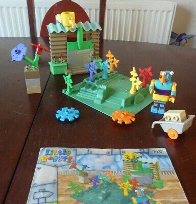 LEGO DUPLO LITTLE ROBOTS GARDENING WITH STRIPEY  7437 Figure  - Complete  RARE • 24.99£