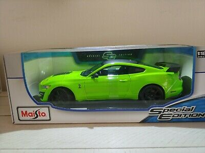 $60 • Buy 2020 FORD MUSTANG SHELBY GT500 - Green 1/18 Scale Maisto Special Edition - New