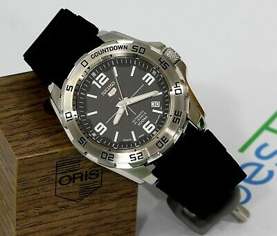 $ CDN47.56 • Buy Mint! Japan Made Seiko 5 Sports Automatic 24 Jewels Men's Watch MOD 100m Diver's