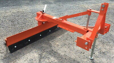 AU1100 • Buy Heavy Duty 6' Tractor 3PL Reversible Grader Blade W/ Offset & 7 Rippers